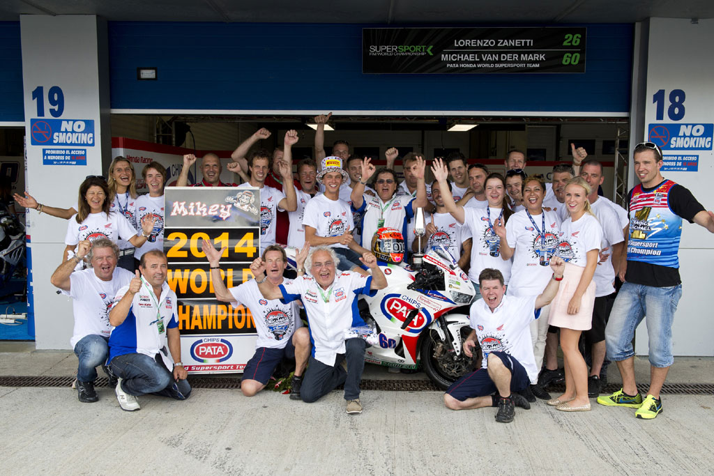 2014 Jerez - Michael van der Mark