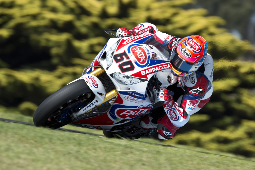 2015 Phillip Island-test - Michael van der Mark