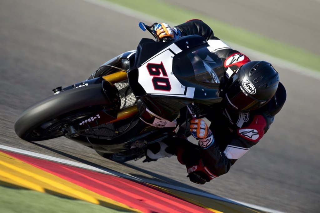 2016 Aragon Test - Michael van der Mark